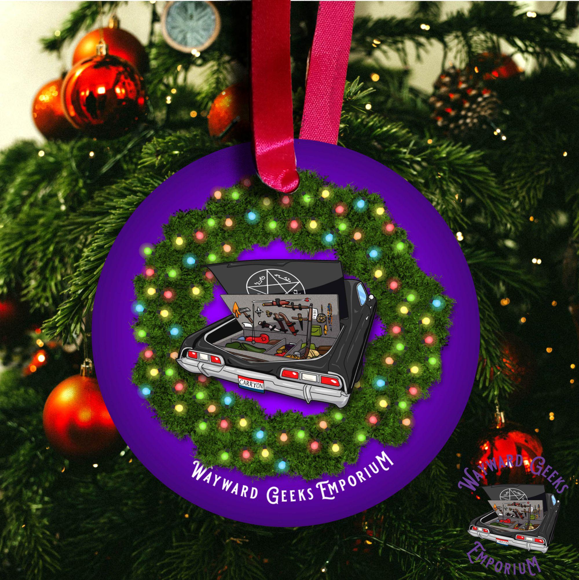 SuperNatural Christmas Ornament